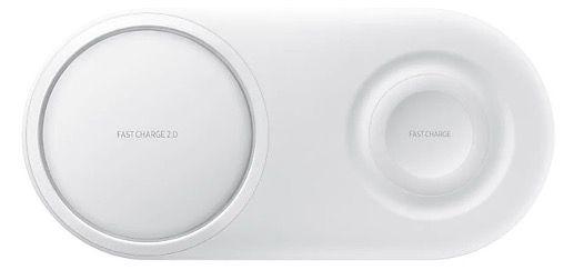 Samsung Wireless Charger Duo Pad in Weiß oder in Schwarz für 39€ (statt 60€)