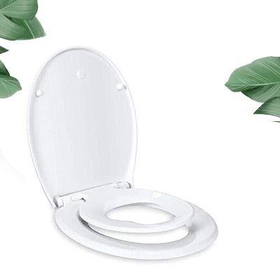 TACKLIFE Toilettensitz mit abnehmbarem Kindersitz und Soft-Close Funktion für 26,99€ (statt 40€)