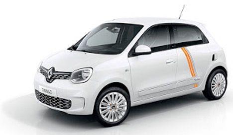Gewerbe: Renault Twingo Electric Vibes inkl. Batterie mit 82PS in Weiß für 57€   LF 0,33
