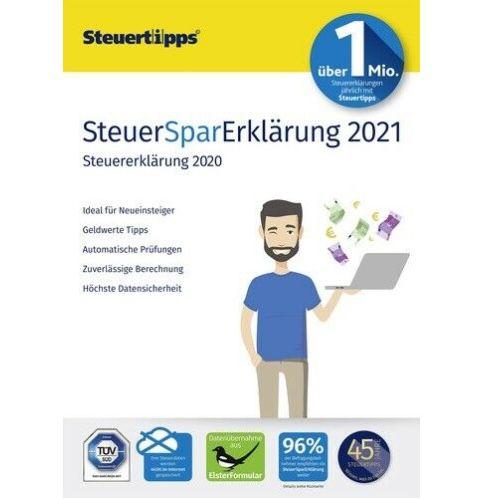 SteuerSparErklärung 2021 (für Steuerjahr 2020) als Download für 19,99€ (statt 27€)