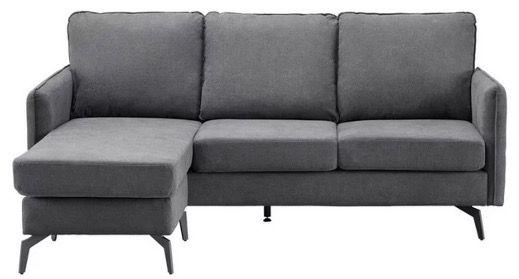 Bessagi Sofa Aurora in Dunkelgrau für 259,25€ (statt 349€)
