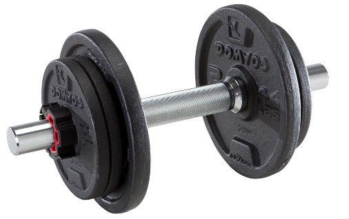 Domyos 10kg Kurzhantelset für Krafttraining für 23,98€ (statt 40€)