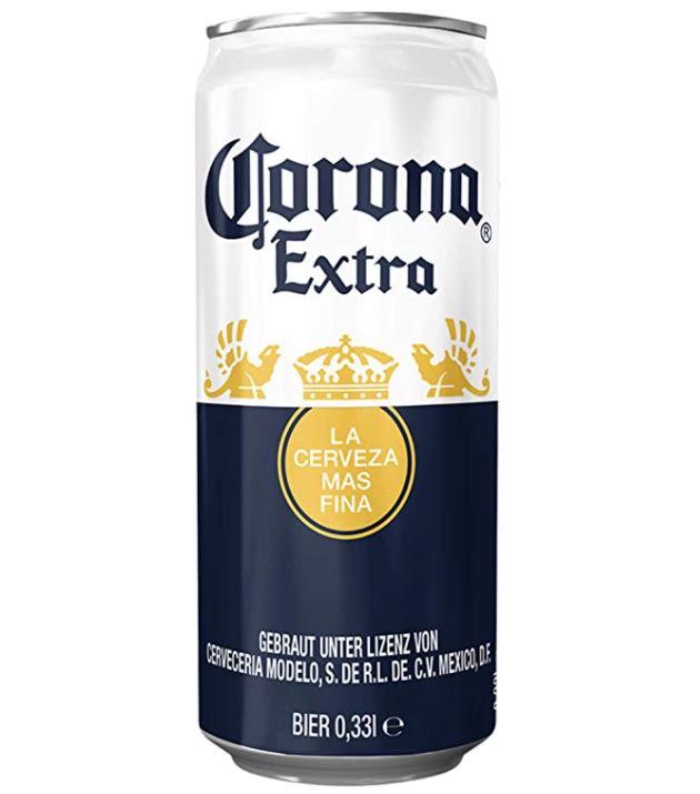 24er Tray Corona Extra Premium Lager Dosenbier für 14,36€ + 6€ Pfand