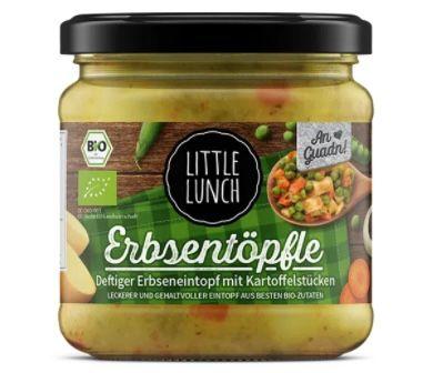 16x Little Lunch Erbseneintopf mit Kartoffelstücken für 28,67€ – nur 1,79€ pro Stück