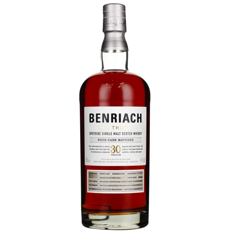 Benriach The Thirty 30 Jahre Single Malt Whisky für 444,95€ (statt 698€)