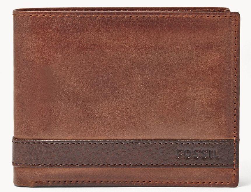 Fossil Geldbörse Quinn L Zip Bifold aus Leder für 23,80€ (statt 48€)