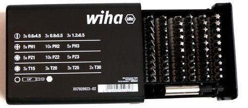 Wiha Bit Satz Collector im Koffer 61 teilig für 25,90€ (statt 44€)