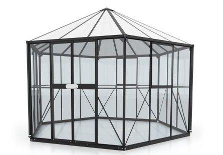 Vitavia Gewächshaus Hera 9000 (336x383,3x283cm) für 1.698,95€ (statt 2.299€)