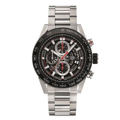 TAG Heuer Chronograph Carrera Manufakturkaliber Automatikuhr für 3.636€ (statt 4.590€)