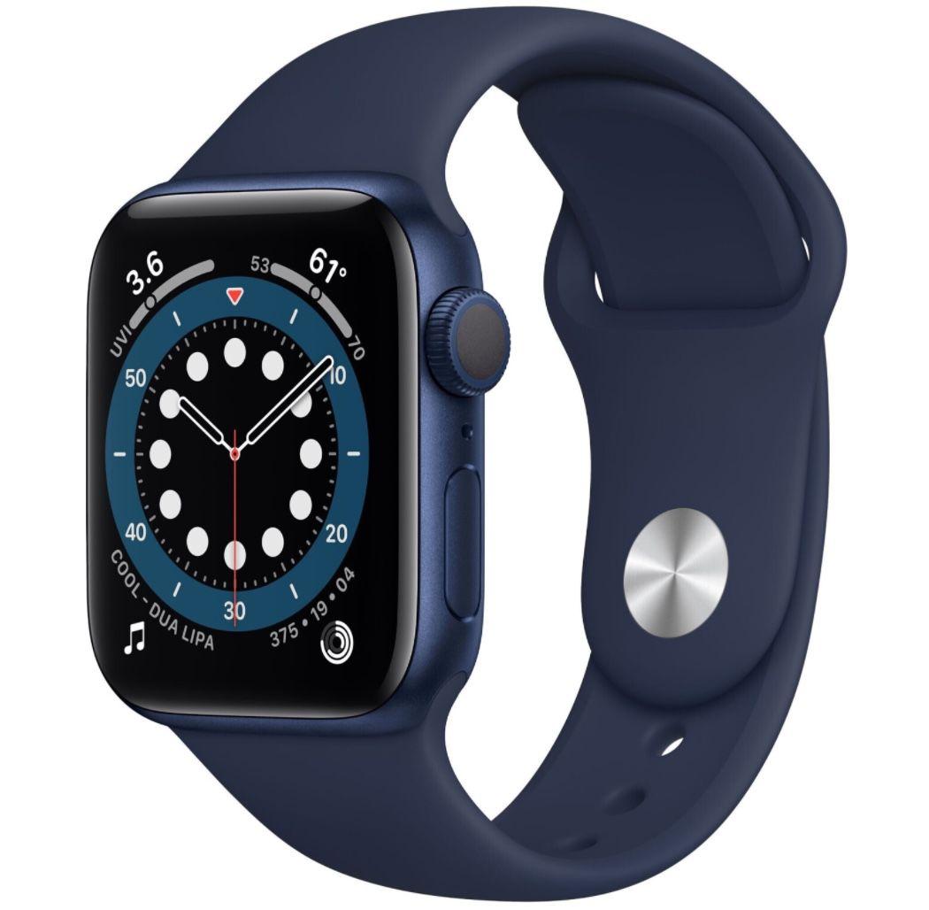 Apple Watch Series 6 (GPS) 40mm Aluminium mit Sportarmband für 377,91€ (statt 399€)