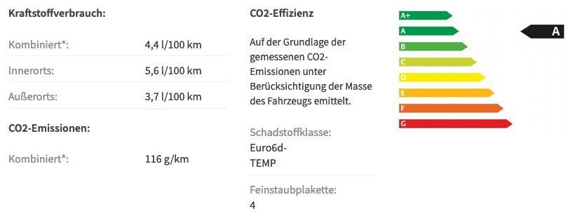 Privat: Skoda Octavia Combi RS 2.0 TDI mit 200PS in Stahl Grau für 279€ mtl.   LF 0,65