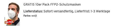 Regatta Herren Strickfleecejacke in vier Farben für 31,99€ (statt 40€) + 10x FFP2 Masken gratis