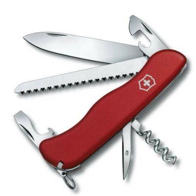 Victorinox Taschenmesser Rucksack (12 Funktionen, Feststellklinge, Korkenzieher, Holzsäge) für 25€ (statt 37€)