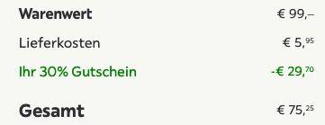 Bessagi Retro Sessel Jonas für 75,25€ (statt 99€)