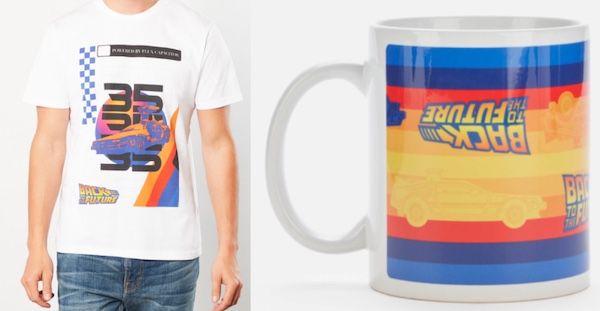 Zurück in die Zukunft Shirt + Tasse für 11,48€ (statt 20€)