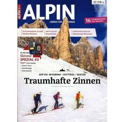 """12 Ausgaben der Zeitschrift """"Alpin"""" für 78€   Prämie: 65€ Amazon Gutschein"""