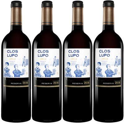 15x Clos Lupo Reserva 2016 trockener spanischer Rotwein für 48,89€ (statt 104€)