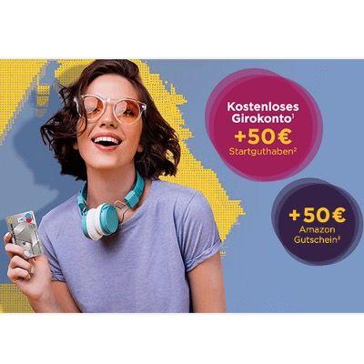 Kostenloses Commerzbank-Girokonto + 50€ Startguthaben + 50€ Amazon + bis 100€ bei Freundschaftswerbung