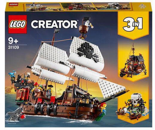 LEGO 31109 Creator 3 in 1 Piratenschiff für 68,19€ (statt 78€)