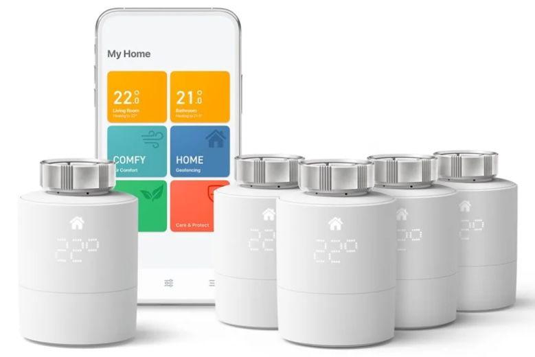 🔥 tado Smart Starter Kit V3+ mit 5 Thermostaten für 229€ (statt 325€)