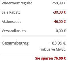 Wellensteyn Herren Winterjacke Firewall für 183,99€ (statt 260€)   S, M & XXL