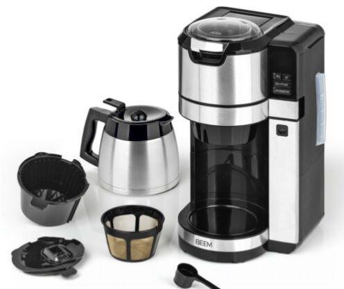 Beem Fresh Aroma Pure Kaffeemaschine mit Mahlwerk & Isolierkanne für 69,29€ (statt neu 120€)   B Ware