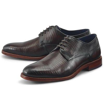 Daniel Hechter Business Herren Leder-Schuhe Gysbert in Braun für 71,82€ (statt 110€)