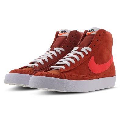 Nike Blazer Mid '77 Vintage-Sneaker in Brown-Red-White für 49,99€ (statt 83€)