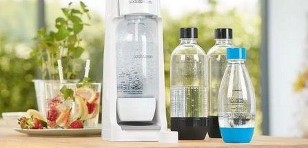 Sodastream Cool Wasserspender mit 2 Flaschen & CO2 Zylinder für 44,94€ (statt 60€)