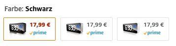 ZOVER LED Wecker mit Temperaturanzeige für 8,99€ (statt 18€)   Prime