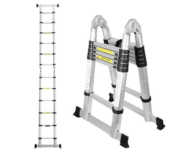 Teleskopleiter aus Aluminium mit 30% Rabatt   z.B. 4,4 Meter für 70,69€ (statt 101€)