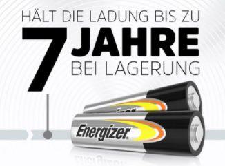 40er Pack Energizer Alkaline Power Mignon Batterie (AA) für 5,99€ (statt 12€)