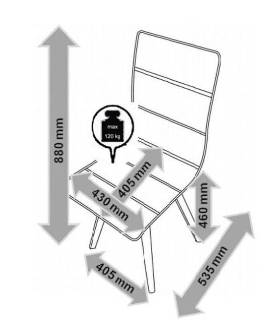 Bessagi Stuhl Tim bis maximal 120kg für 30,45€ (statt 35€)