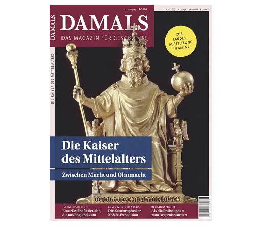 14 Ausgaben DAMALS für 96,18€ + Prämie: 100€ BestChoice Gutschein