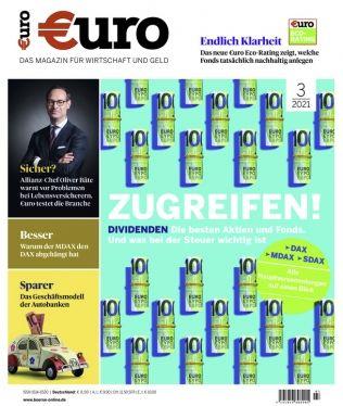 12 Monate Euro für 106,80€ + Prämie: 95€ Scheck