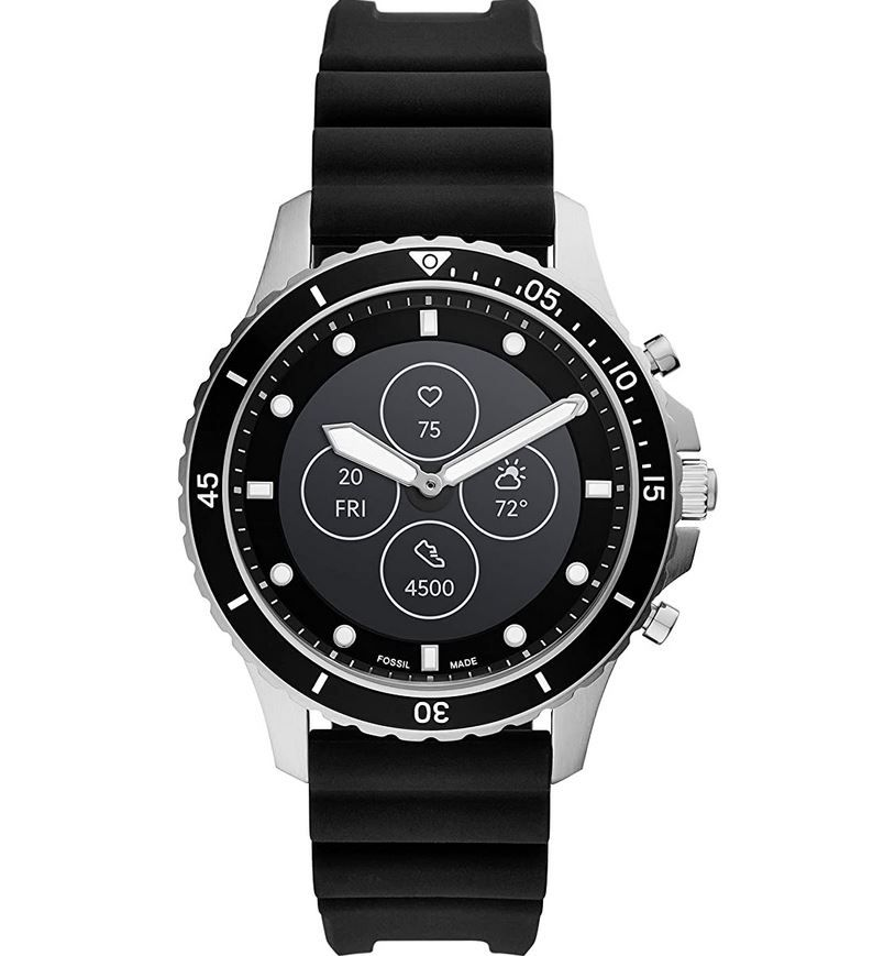 Fossil HR FB-01 Hybrid Smartwatch Silikon für 97,30€ (statt 159€)