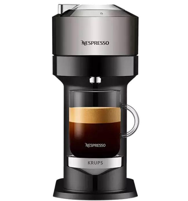 Bis Mitternacht: Media Markt: Kommt Gut Aktion – z.B. KRUPS XN910C Nespresso Vertuo Next Kapselmaschine für 84,20€ (statt 142€)