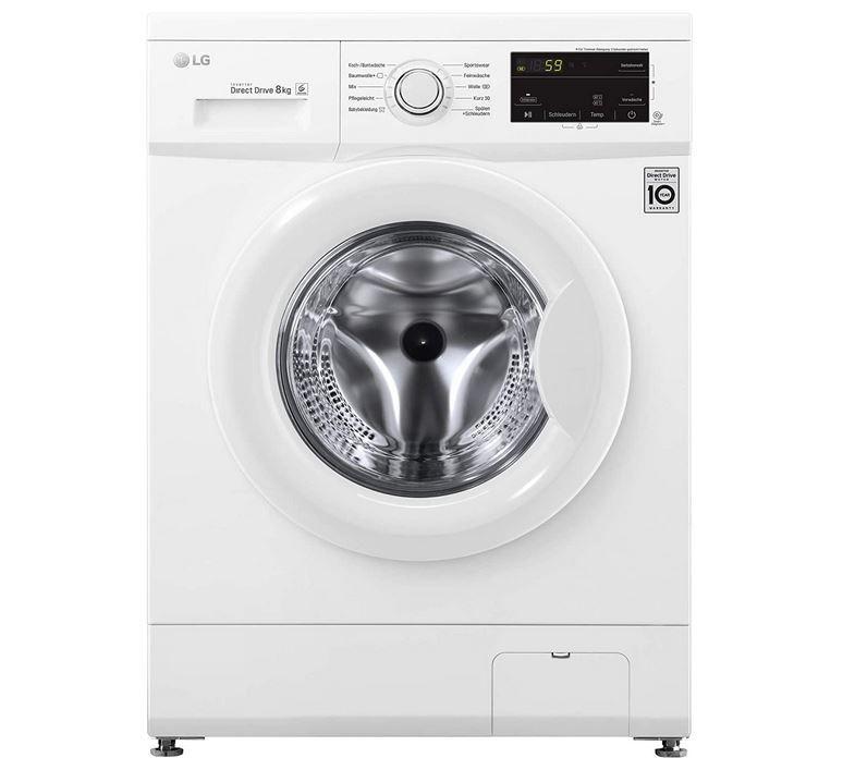 LG F14WM8MC0 Waschmaschine A+++ 8kg mit 1400 U/min für 309,99€ (statt 399€)