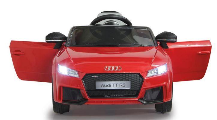 JAMARA Elektro Audi TT RS 12V Schwarz  o. Rot für 124,99€ (statt 174€)