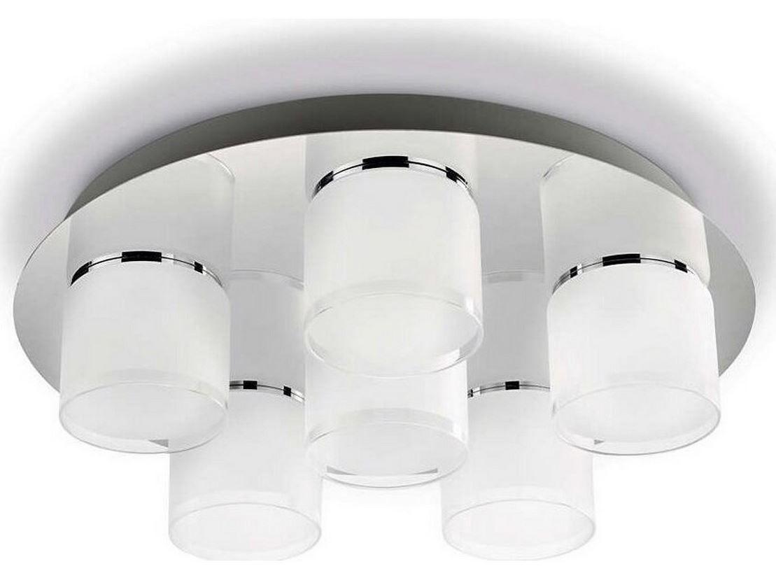 Philips Byzantin LED Deckenleuchte 6x 5 W für 55,90€ (statt 137€)