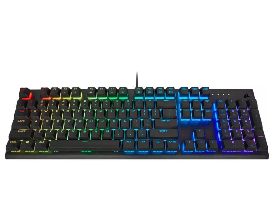 Corsair K60 RGB PRO Mechanische Gaming Tastatur für ~90€ (statt 139€)