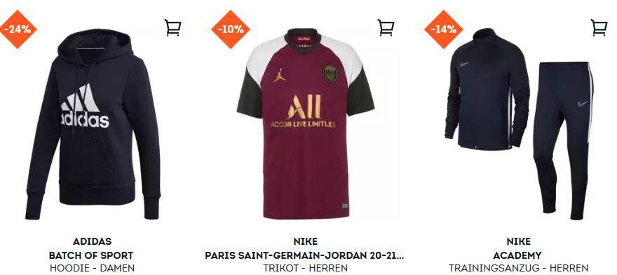 SportScheck mit 40% Rabatt im Sale + 20% extra   günstige Sportfashion