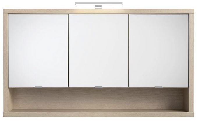 Ladama Spiegelschrank (123/69/22cm) mit Beleuchtung ab 195,30€ (statt 279€)