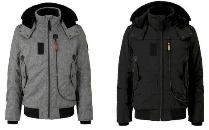 Tom Tailor Herren Winterjacke mit Kapuze für 56,90€ (statt 76€)
