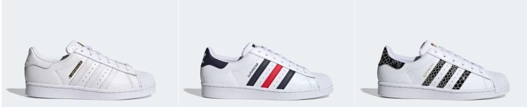 Adidas Superstar Damen und Herren Sneaker mit 20% Rabatt ab 39,98€