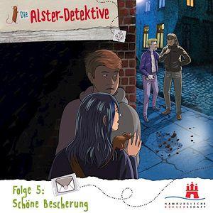 Die Alster Detektive   Schöne Bescherung –  gratis als MP3 herunterladen