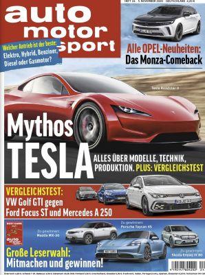 13 Monate auto motor und sport für 128,70€   Prämie: 110€ Amazon Gutschein