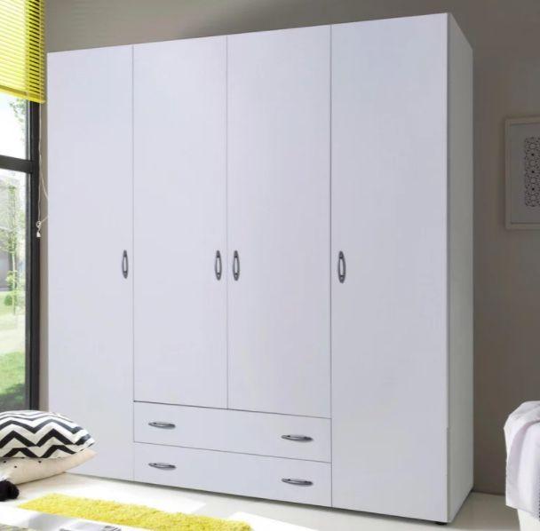 Drehtürenschrank Base 4 mit 4 Türen inkl. 4 Einlegeböden für 104,30€ (statt 149€)