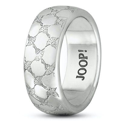 Ein Ring, sie zu knechten? JOOP! Silber Ring mit Allover Logoprägung ab 74,23€ (statt 95€)