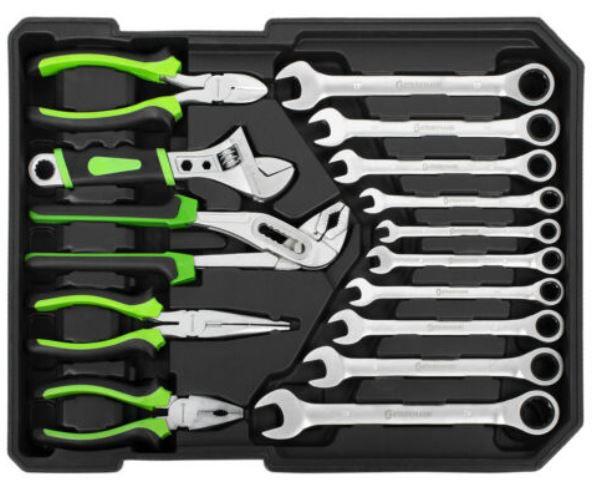 Starkmann Blackline Werkzeugkoffer 399 teilig für 99,99€ (statt 144€)